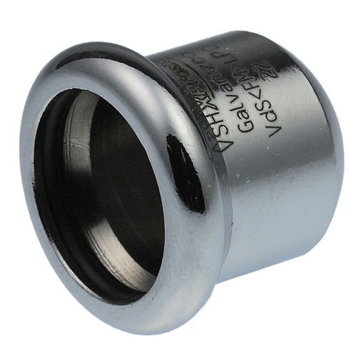 Picture of 89mm Galv Carbon Steel Stop End SC61