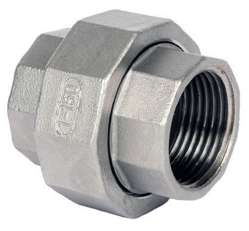 """Picture of 3"""" Stainless Hex Union"""