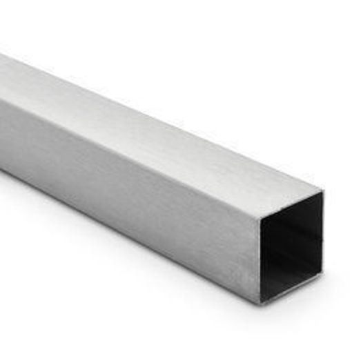 Picture of 40mm x 40mm x 3mm Stainless Box 304