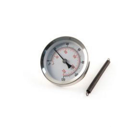 """Picture of 2""""Dial 0+120C&F 63mm Pocket Clip-On Thermometer"""
