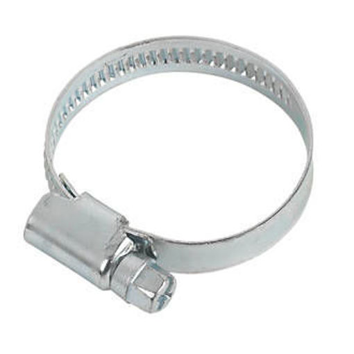 """Picture of """"000"""" Stainless Hose Clip 9.5mm-12mm"""