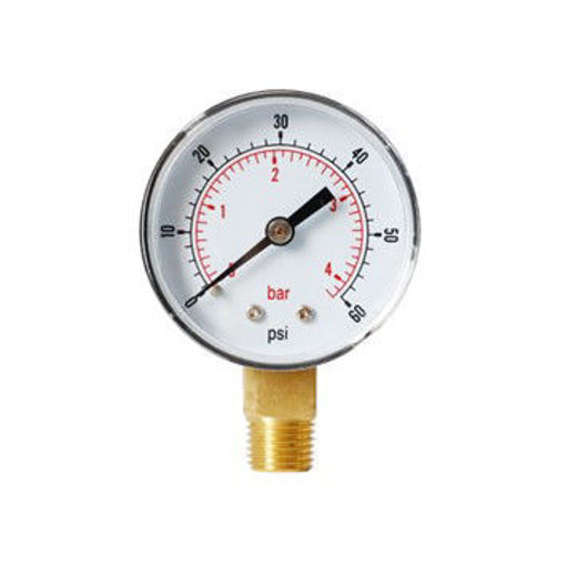 "Picture of 2""x1/8"" Bott Press Gauge 0-4bar/psi"