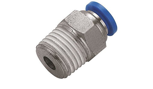 """Picture of 8mm x 1/2"""" Push-In Fitting Male Stud"""