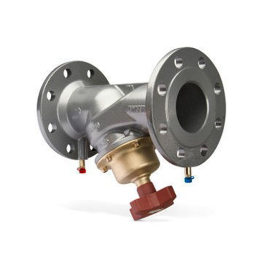 """Picture of 250nb (10"""") STAF PN16 Commissioning Valve c/w Test Points"""