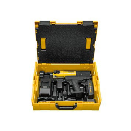 Picture of Rems Mini Press 22v c/w 2 Battery's In A Metal Box